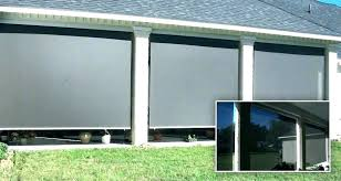 outdoor roll up shades down curtains screens for patio luxury how to make shade outdoor roll up shades patio