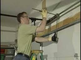 garage door tension springE Removing Standard Garage Torsion Springs  YouTube