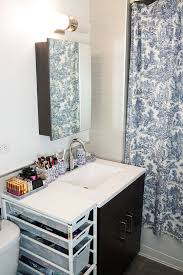 Small Picture NYC Apartment Updated Bathroom Tour Covering the Bases
