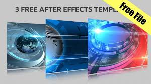 Newspaper Template After Effects Free Free After Effects Template Circle Burst Assets Logo Animation
