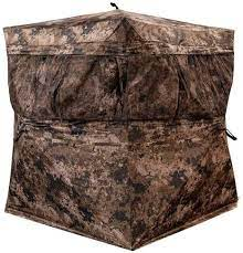 Amazon.com : Rogers Sporting Goods Workin' Man Ground Blind in Veil  Wideland : Sports & Outdoors