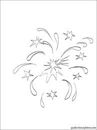 Kleurplaat Kerstmis Vuurwerk Gratis Kleurplaten