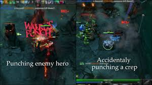 this is what happens if you accidentally ulti a creep as tusk dota2