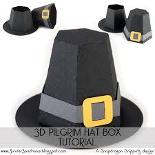 3d pilgrim hat tutorial
