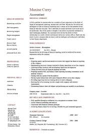 Example Accounting Resumes Accounting resume examples accountant template example job 53