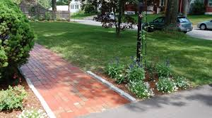 how to lay a brick walkway with mortar