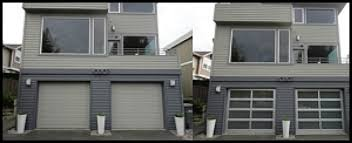 image photo gallery before and after garage doors