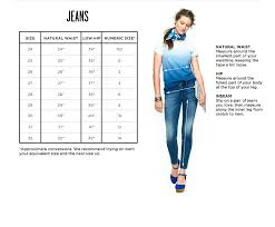 Cowgirl Up Jeans Size Chart Clothing Size Charts Measurement Guide Madewell In 2019
