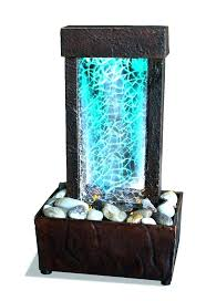 indoor tabletop water fountain indoor tabletop water fountain led lights waterfall decor interesting