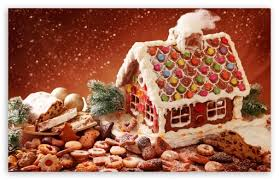 gingerbread house wallpaper. Contemporary Wallpaper Download Gingerbread House And Cookies HD Wallpaper With G