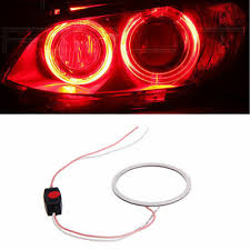 <b>DC 12V 60mm COB</b> LED Angel Eye Halo Ring Bulb Fog Light Car ...