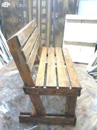 make pallet furniture. Making Pallet Furniture To Make This Bench I Used Two Pallets First Of All Sanded
