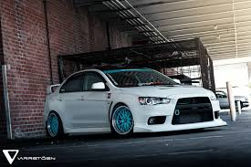 2018 mitsubishi lancer evo x. contemporary 2018 varrstoen es1 wheels tiffany blue centers  minty fresh pinterest  blue wheels and evo in 2018 mitsubishi lancer evo x