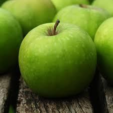 green apple fruit tree. granny smith apple tree green fruit w