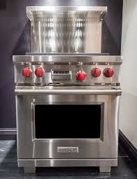 wolf gas range. This Sturdy Wolf Range Has A Commercial-inspired Look. Gas G