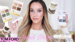 new <b>tom ford soleil neige</b> collection 2019 review & demo