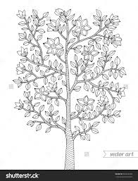 Small Picture Tree Coloring Pages For Adults Coloring Coloring Pages