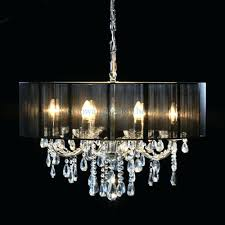 uttermost kitchen appealing black shaded chandelier 2 rectangular shade with crystals white drum black shaded chandelier