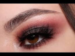 black and red smokey eyes tutorial
