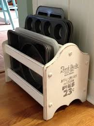Repurpose Magazine Holder Adorable DIY Repurpose An Old Magazine Rack Into This Adorable Kitchen