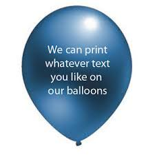 Details About 25 Birthday Wedding Anniversary Christening Personalised Helium Quality Latex