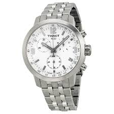 tissot prc 200 watches jomashop tissot prc200 chronograph white dial stainless steel men s watch