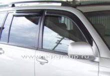 <b>Дефлекторы боковых окон</b> Toyota Highlander 2001-2007 <b>темные</b> ...