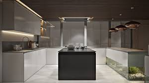 Office Kitchen Design Office Kitchen Design Rendering In Chocolate Hues Archicgi