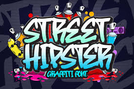 Most of the font style of this collection definitely impress you. Street Hipster Font By Blankids Studio Creative Fabrica