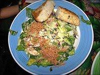 rainforest cafe china island en salad