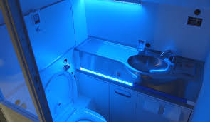 Do Black Lights Show Germs Boeings Self Cleaning Lavatory Zaps Germs With Uv Light