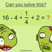brain teaser number and math puzzle can you solve this of the people answer wrong