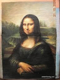 mona lisa oil painting reion