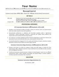 Hotel Front Desk Resume Samples Resume Front Desk Clerk Examples Hotel Front Desk Clerk Resume