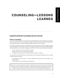 The Mentor U S Leadership Counseling Includes Over 50