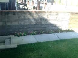 cinder block wall plans ideas garden making a g