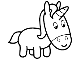 Small Picture Baby Unicorns Coloring Pages Coloring Home