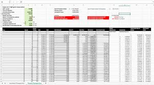 Sample Budget Spreadsheet Excel New Monthly Financial Report Home ...