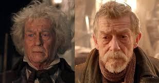 john hurt dumbledore. Simple Hurt John Hurt Throughout Dumbledore E