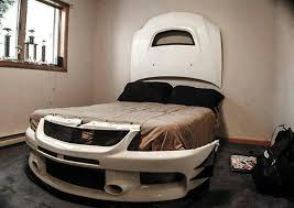 Cool car bed!