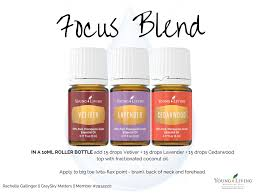 Focus Roller Blend for Kids and Adults | Living essentials, Young ...
