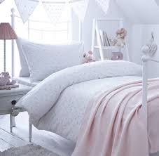 Girl's Pink Spot Embroidered Bedding | Embroidered bedding ... & Girl's Pink Spot Embroidered Bedding Adamdwight.com