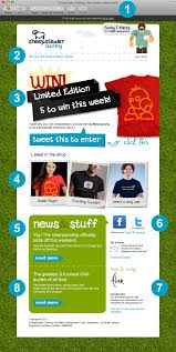 Examples Of Company Newsletters 8 Components Of A Successful Email Newsletter Toddle Stuff