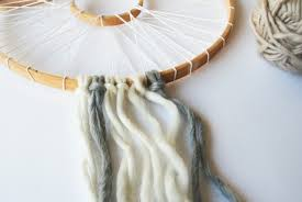 What To Use For A Dream Catcher Hoop DIY Yarn Dream Catcher 40