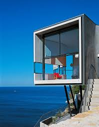 artistic cliff house