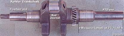 balancing a single cylinder engine to reduce dangerous vibration 10hp 12hp 14hp and 16hp k series and magnum flathead single cylinder engine crankshafts these cast iron cranks are a genuine kohler part they re used