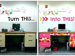 office desk decoration ideas. Office Desk Decor Ideas Cubicle Decorations Which Bring Your Cool For Halloween Decoration