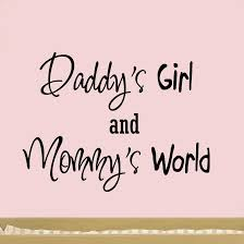 home wall quotes wall decals for nursery daddy s girl and mommy s world nursery wall art quote vinyl decal decor baby  on wall art sayings for nursery with daddy s girl and mommy s world wall decal vwaq