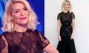 Holly willoughby looked like a princess for the second live shows of 2020 dancing on ice. Dancingonice Holly Willoughby Defies Ofcom Complaints With Busty Display In Sheer Dancing On Ice Dress Holly Willoughby