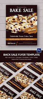 Bake Sale Flyers Template Free Wilkesworks